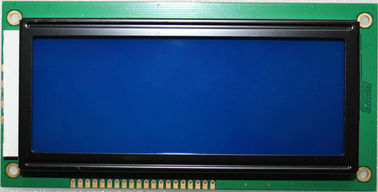 Blue Mode Transmissive LCM LCD Display Negative Character Screen For Instrument